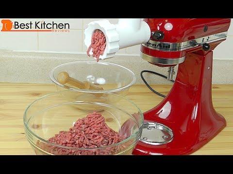 Sử dụng máy là bếp đa năng midimori để xay thịt