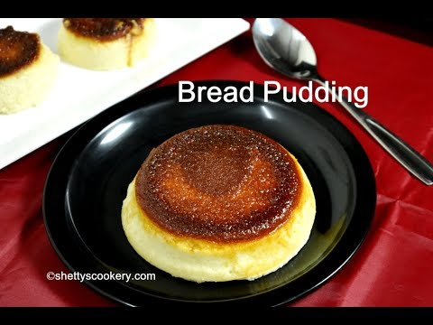 bread pudding recipe | steamed bread pudding |easy dessert recipes