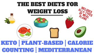 The 4 Best Science-Based Diets (Lifestyles) To Lose The Baby Weight -Includes MEAL PLANS for each wi