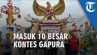 Gapura di Banjarmasin Masuk 10 Besar Juara Kontes Gapura Cinta Negeri Nasional 2019