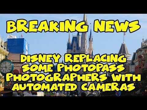 Breaking Disney News- WDW Replacing Some Photopass Photographers with Automated Camera Locations