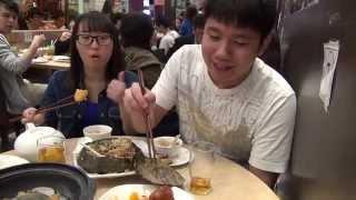 食盡香港 @ 惹味中菜小炒 荷葉飯,黃金蝦球,冰梅骨,胡椒蜆湯 (葵芳)