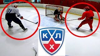 Pavel Barber VS 2 KHL Players | 2 on 2 GoPro Hockey
