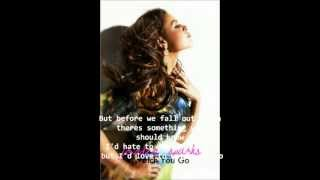 Jordin Sparks - Watch You Go Lyrics HQ