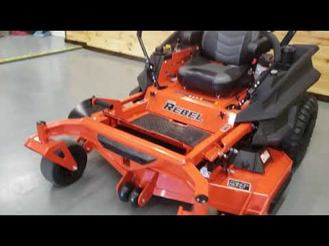 "2019 Bad Boy Mowers Rebel 54"" with 27hp Kawasaki in Saucier, Mississippi - Video 2"