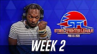 Street Fighter League (Season 2) - Week 2