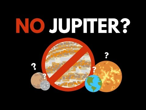 What If Jupiter Never Existed?