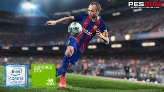 PES 2018 [ @60fps...? ] on Geforce gt 940MX - i5 7200u - 8GB Ram [Acer E5 475G]