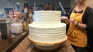 Simple wedding cake for Beginners