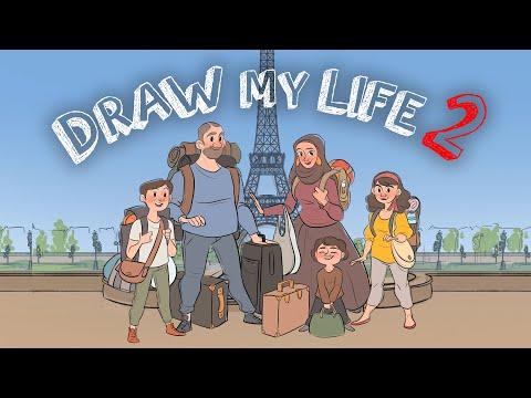 MA VIE EN DESSIN 2 ! (depuis mon arrivé en France) - IbraTv
