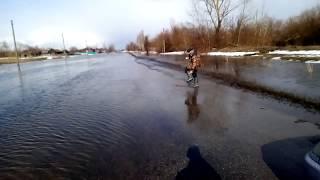 Паводок в Завьяловском районе, с. Чистоозерка