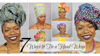 7 Ways to Tie a Headwrap | MariaAntoinetteTV