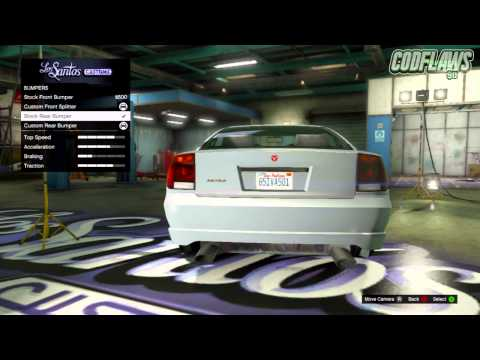 GTA 5 Online: Best SECRET Car Customization Options! (GTA 5 Rare & Secret Car Features)