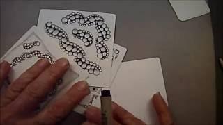 Akoya Tangle Pattern Lesson # 73