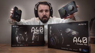 NEUE Astro A40 TR Gen 4 (2019) + MIXAMP PRO TR vs Astro A40 TR Gen 3 Gaming Headset