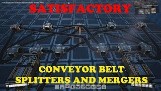 Satisfactory - Splitters and Mergers, Basic Instructions and Complex Balancers