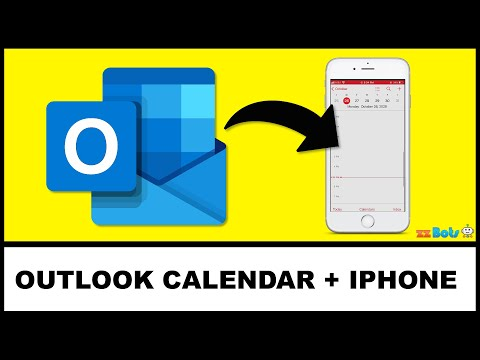 How to Add Outlook Calendar to Your iPhone (iCloud) Calendar   zzBots