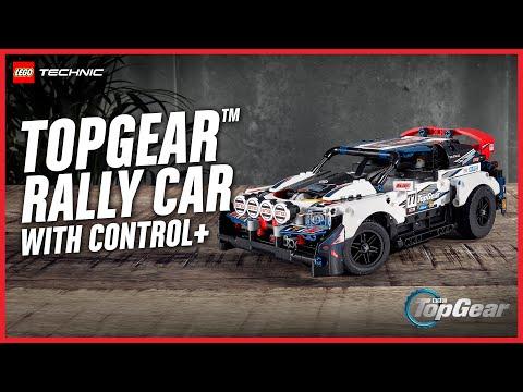 Vidéo LEGO Technic 42109 : La voiture de rallye contrôlée