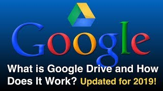 What is Google Drive and How Does It Work - Updated for 2019