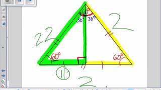 Special Right Triangles 30 60 90