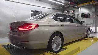 Так собирали Ваш БМВ 5 серии.BMW 5 series