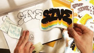 Designing Vinyl Decal Sticker Packs - PLADO GRAFFITI