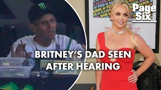 Britney Spears' dad, Jamie, spotted outside his trailer home after hearing | Page Six Celebrity News