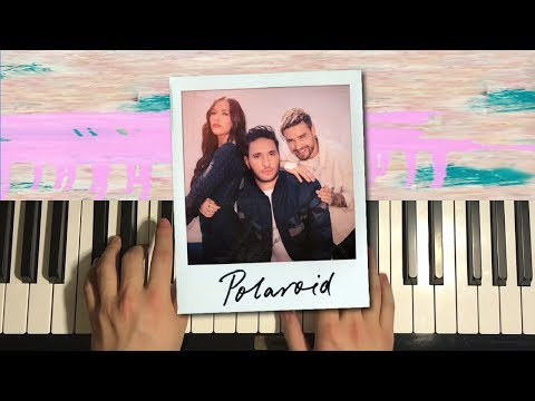 "HOW TO PLAY -  ""Polaroid"" By Jonas Blue, Liam Payne, Lennon Stella (Piano Tutorial Lesson)"