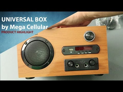 Universal Box by Mega Cellular, PhP2990 TV box full of features