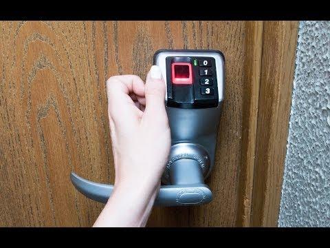 ADEL Biometric Fingerprint Door Lock – New model