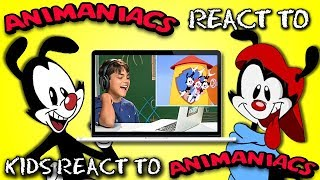 Animaniacs React To Kids React To Animaniacs