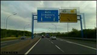 preview picture of video '202 - Luxembourg. A3 E25 [HD]'