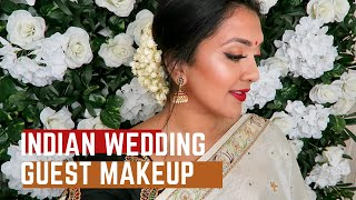 Indian Wedding Guest | Hair and Makeup | Vithya Hair and Makeup