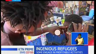 Kakuma refugees engaging in profitable activities