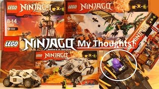Official LEGO Ninjago Summer 2016 Sets - My Thoughts! SEASON 7!