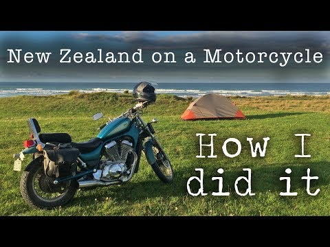 New Zealand On A Motorcycle // How I Did It