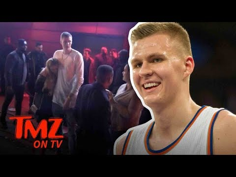 Porzingis Is The King Of NY And Chick's Love Him! | TMZ TV