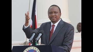 President Uhuru says he is open to dialog but after exhausting the constitutional laid out processes