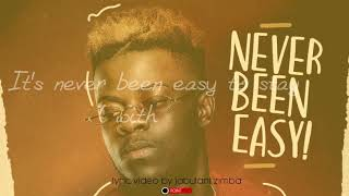 Daev   Never Been Easy (Lyric Video)