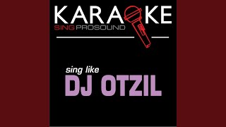 Do Wah Diddy (In the Style of DJ Otzi) (Karaoke with Background Vocal)