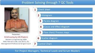 Problem solving using 7 QC tools