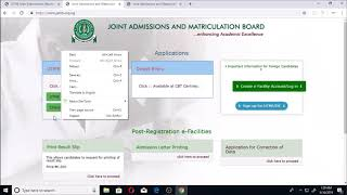 JAMB RESULT PRINTING, Everybody Can Now Print And Check Jamb Result
