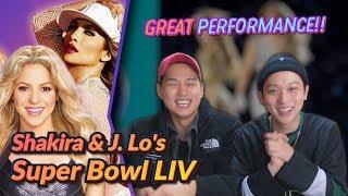 K-pop Artist Reaction] Shakira & J. Lo's FULL Pepsi Super Bowl LIV Halftime Show