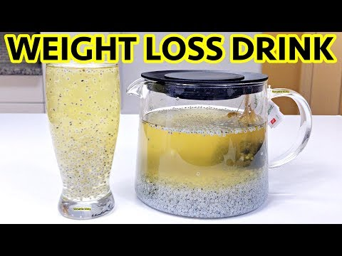 Weight Loss Drink For Summer - Lose 5Kg In 15 Days | Basil Seeds For Weight Loss