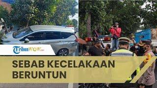 Diduga karena Rem Blong, 9 Kendaraan Terlibat Kecelakaan Beruntun di Magelang, 1 Orang Meninggal