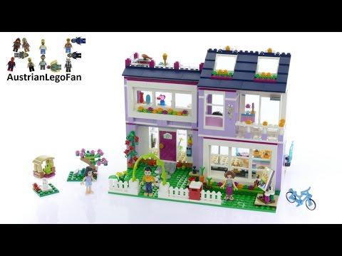 Vidéo LEGO Friends 41095 : La maison d'Emma