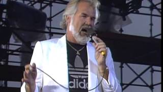 Kenny Rogers - Islands In The Stream (Live at Farm Aid 1985)