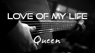 Love Of My Life - Queen | Extreme Version | ( Acoustic Karaoke )