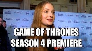 Game of Thrones Season 4 London Premiere Interviews