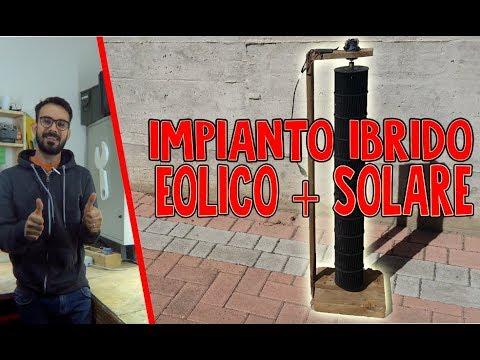 IMPIANTO IBRIDO | EOLICO + FOTOVOLTAICO